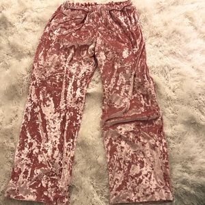 VS Velvet PJ Pants